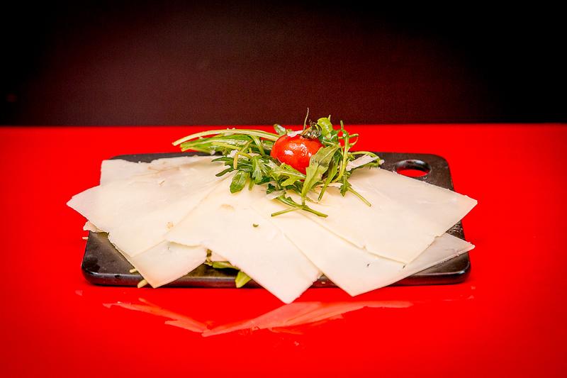 Assiette de Manchego Mesclun confiture