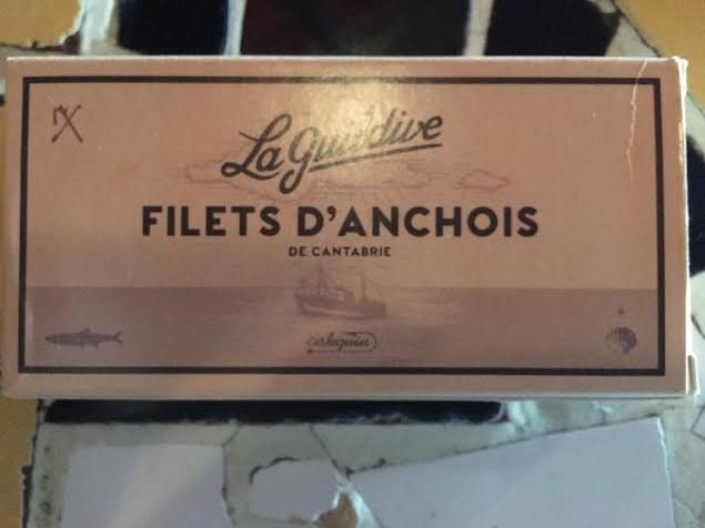 Filets d'anchois n°1