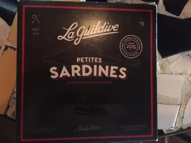 Sardines à l'huile d'olive extra
