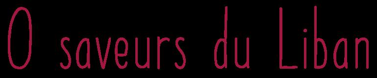 Logo O Saveurs du Liban