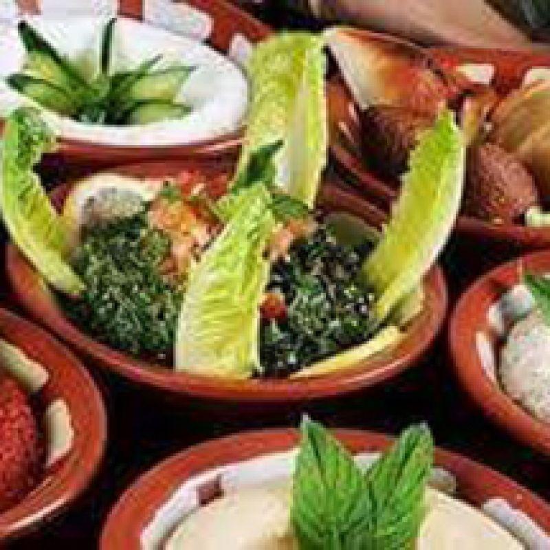 Menu Mezzé Végétarien 10 Entrées