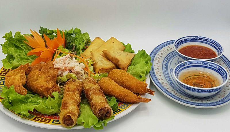 Assiette Quang aux 5 Délices
