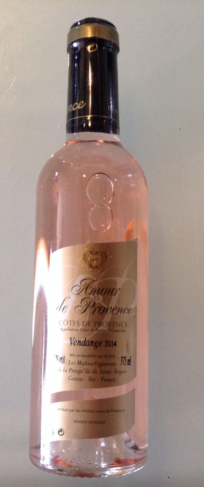 Côte de Provence Amour Provence 50cl rosé