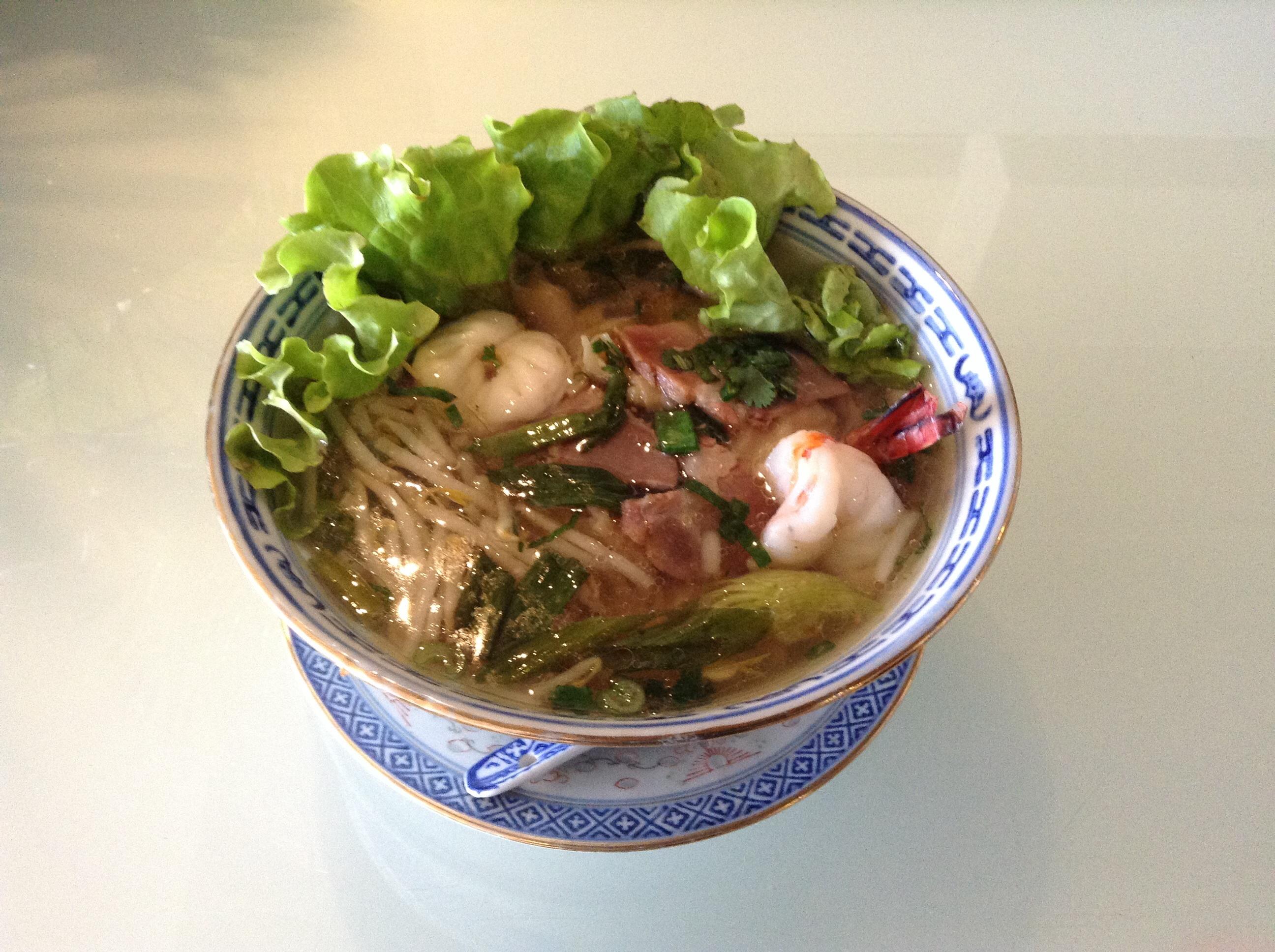 Soupe Wan Tan