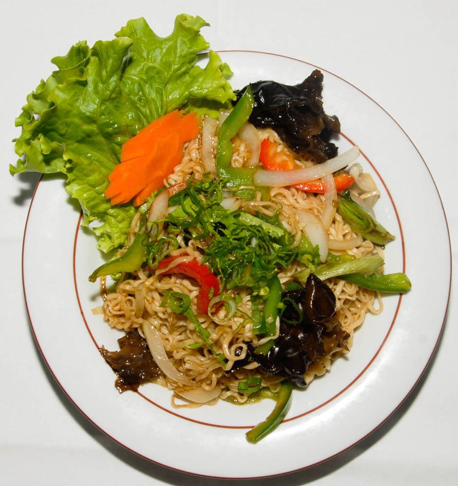 Vermicelles Chinois Sautés