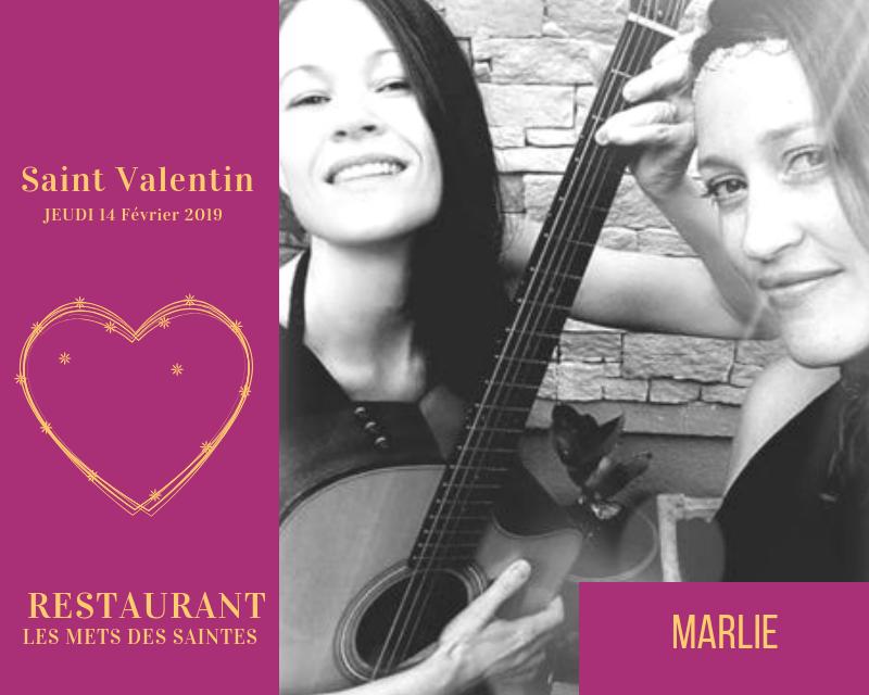 La Saint Valentin en musique avec Marlie